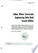 Saline Water Conversion Engineering Data Book