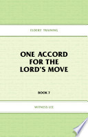 One Accord For The Lord S Move