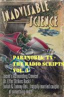 Paranoria  TX   The Radio Scripts Vol  4