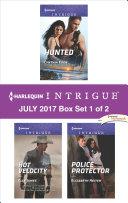 Harlequin Intrigue July 2017   Box Set 1 of 2