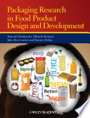 Packaging Research in Food Product Design and Development Book PDF