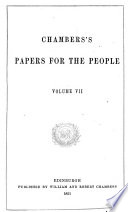 Chambers  Papers for the People Book