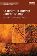 A Cultural History of Climate Change Pdf/ePub eBook