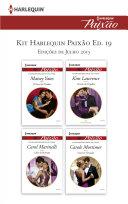 Kit Harlequin Paixão Jul.15 - Ed.19