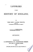 Landmarks of the History of England Book PDF