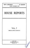 Congressional Serial Set Book PDF