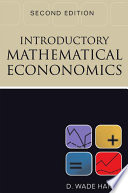 Introductory Mathematical Economics