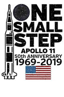 One Small Step Apollo 11 50th Anniversary 1969 - 2019