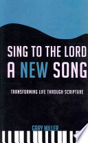 Sing to the Lord a New Song Book