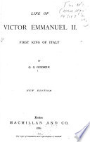 Life of Victor Emmanuel II   First King of Italy Book