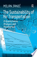The Sustainability of Air Transportation Book