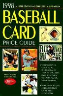 1998 Baseball Card Price Guide Book