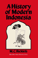 A History of Modern Indonesia