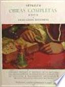 Spinoza : Obras completas