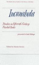 Incunabula