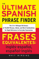 The Ultimate Spanish Phrase Finder Book