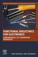 Functional Dielectrics for Electronics Pdf/ePub eBook