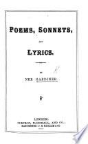 Poems, Sonnets, and Lyrics