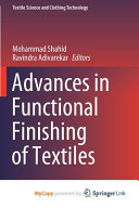 Advances in Functional Finishing of Textiles  Environmental Profile of Nano finished Textile Materials  Implications on Public Health  Risk Assessment  and Public Perception