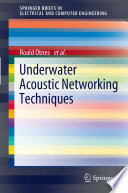 Underwater Acoustic Networking Techniques