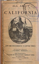 All about California and the Inducements to Settle There