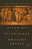 Pdf Pilgrims and Pilgrimage in Ancient Greece