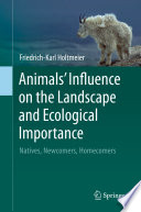 Animals  Influence on the Landscape and Ecological Importance