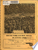 South Fork Salmon River Planning Unit