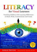 Literacy for Visual Learners Book