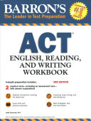 Barron s ACT English  Reading  and Writing Workbook Book