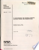 Fy 1990 Scientific And Technical Reports Articles Papers And Presentations Book PDF