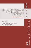 China, Europe and International Security Pdf/ePub eBook