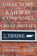 Directory of the Railway Companies of Great Britain
