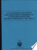 U  S  National Security and Military Commercial Concerns with the People s Republic of China