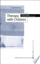 Therapy With Children Book