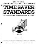 Architectural Record s Time saver Standards and Economy Construction Manual