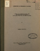 Committee on Problems of Alcohol