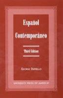 ESPANOL CONTEMPORANEO 3RD ED  PB