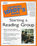 The Complete Idiot s Guide to Starting a Reading Group