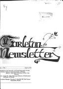 Carleton Newsletter