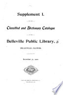 Classified Catalogue ... with Dictionary Catalogue Or Index of Authors, Titles & Subjects