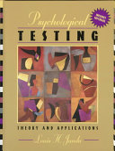 Psychological Testing Book