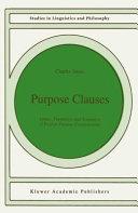Purpose Clauses