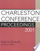 Charleston Conference Proceedings 2001