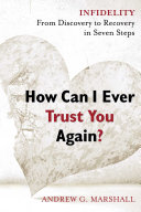 How Can I Ever Trust You Again? Book