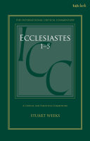 Ecclesiastes 1-5