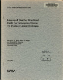 Integrated Gasifier Combined Cycle Polygeneration System to Produce Liquid Hydrogen