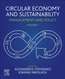 Circular Economy and Sustainability