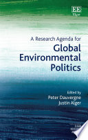 A Research Agenda for Global Environmental Politics Book