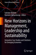 New Horizons in Management  Leadership and Sustainability